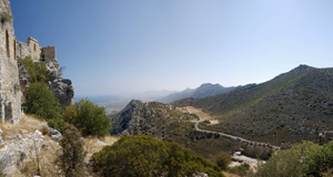 St Hilarion castle, North Cyprus
