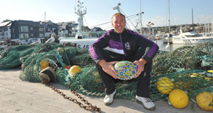 HOLIDAY MODE: Stephen Ferris is in Kinsale this week for the annual Kinsale Rugby 7s. Picture: Dan Linehan