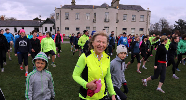 Sue Leonard at Marlay Park in Dublin where she goes for regular runs.  Picture: Nick Bradshaw