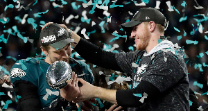 Philadelphia Eagles clinch first Super Bowl title in high-scoring thriller