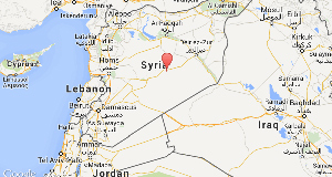 'IS' attack on Syrian border town