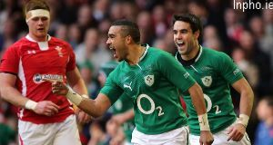 Simon Zebo marks 6 Nations debut with a try