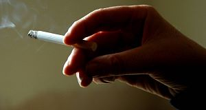 Smokers are among those most at risk of diabetes.