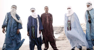 Malian desert music group Tinariwen have been embraced by Western rock.