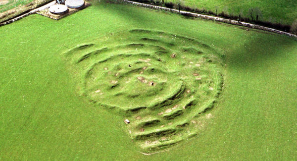 Tlachtga, the second century fort near Athboy in Co. Meath. Picture: Tom Conachy