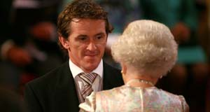 The surprisingly funny line the Queen had for Tony McCoy when he collected his OBE