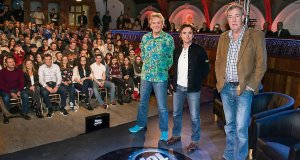Jeremy Clarkson and his co-presenters have transformed Top Gear from a staid car review into a bloke's lifestyle fantasy. It is one of the BBC's best-rated shows.Picture: The Times/Gallo Images/Getty Images