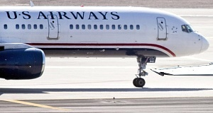 A file photo of a US Airways plane