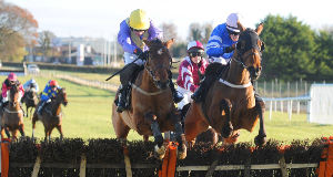 NEW CAREER: On hurdle ratings Urano (left) is more than entitled to be competitive in the beginners chase at Cork today.