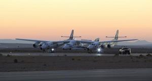 Virgin Galactic's SpaceShipTwo today