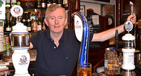 Michael Reidy, proprietor of Le Chateau Bar, Patrick Street, Cork