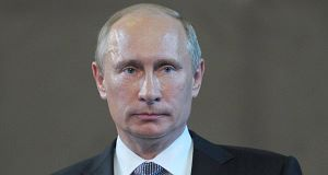 Vladimir Putin: Threatens to cut off gas to Ukraine.
