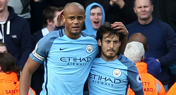 Relief for Man City goalscorer Kompany after injury nightmare