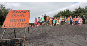 Residents protest against Waterloo junction closure