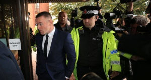 Latest: Over-the-limit Wayne Rooney hit with driving ban and community work order
