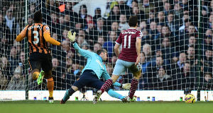 Stewart Downing Scores against Hull, 18 January 2015