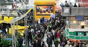There was an attendance of 61,556 at the Agrotech agricultural tradeshow in Poland.