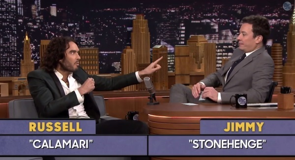 Watch russell brand leaves jimmy fallon speechless