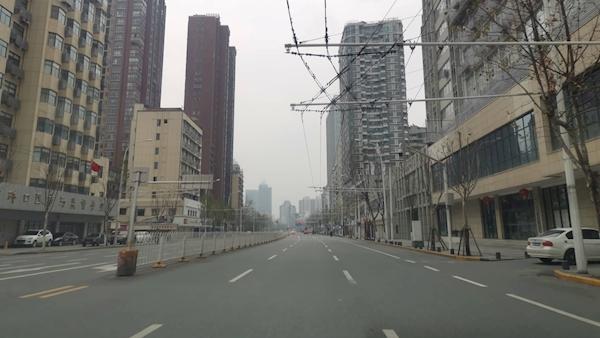 Resultado de imagen de wuhan city no people