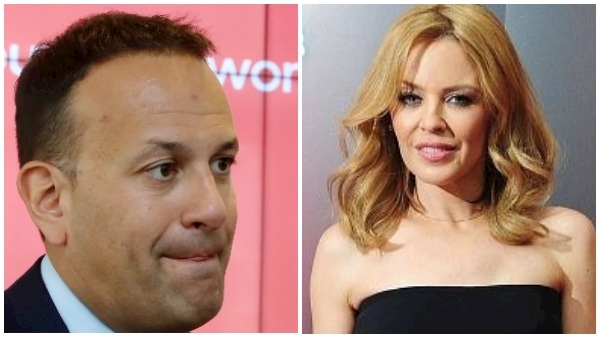 Taoiseach denies he was given free meal at Kylie Minogue gig