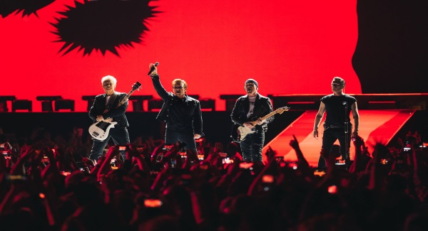 Check out the official video for first single from U2's new